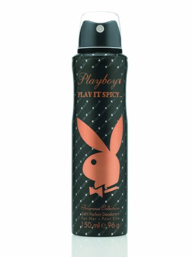Playboy Play it spicy Deo Body Spray 150ml, 1er Pack (1 x 150 ml)