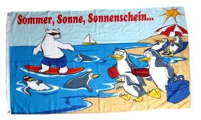 Fahne / Flagge Strandflagge Urlaub 90 x 150 cm Fahnen