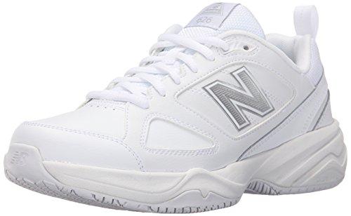New Balance Women's Slip Resistant 626 V2 Industrial Shoe, White, 9.5 XW US