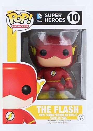 Cabezón Flash, 10 cms. Dc. Pop. Funko
