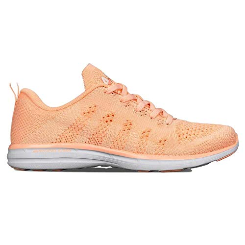 APL: Athletic Propulsion Labs Women's Techloom PRO Pastel Peach/Zest/White, 8