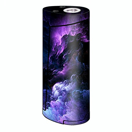 Skin Decal Vinyl Wrap for Smok Priv V8 60w Vape stickers skins cover/ purple storm clouds