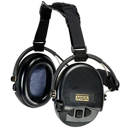 T.o.e. Concept Casque anti-bruit Suprême Pro-X serre-nuque noir coussinets mousse- MSA SORDIN