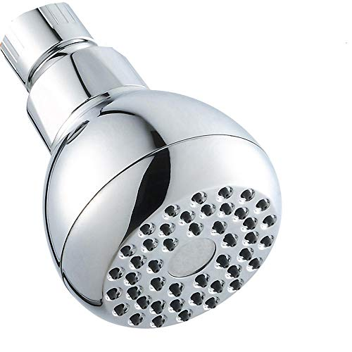Vaste douchekop - douchekop mondstuk, siliconen watergat, veilig, niet-giftig en duurzaam, waterbesparende douchekop onder druk