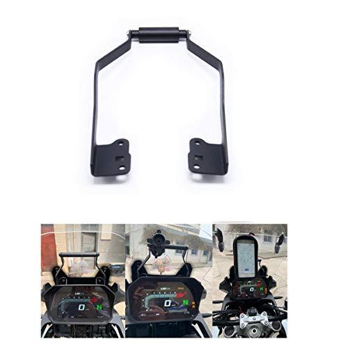 Soporte de navegación para parabrisas de motocicleta, soporte de teléfono móvil GPS compatible con BMW F750GS F850GS (20 mm)
