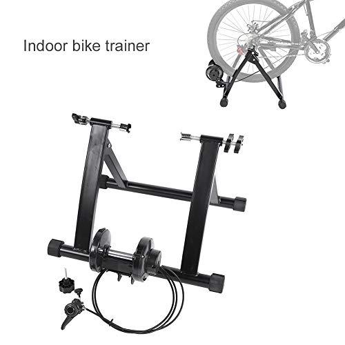 Rodillo Entrenamiento Bicicleta, Soporte Portátil para Ejercicio de Bicicleta en Interior Rodillos Plataforma de Entrenamiento