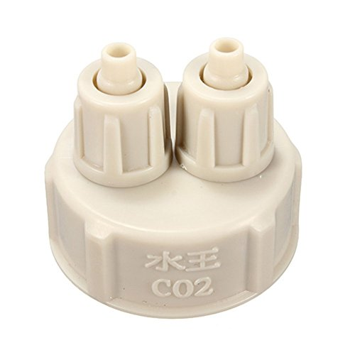 EsportsMJJ Aquarium Fles Cap voor DIY Plants Co2 Diffuser Air Generator Systeem
