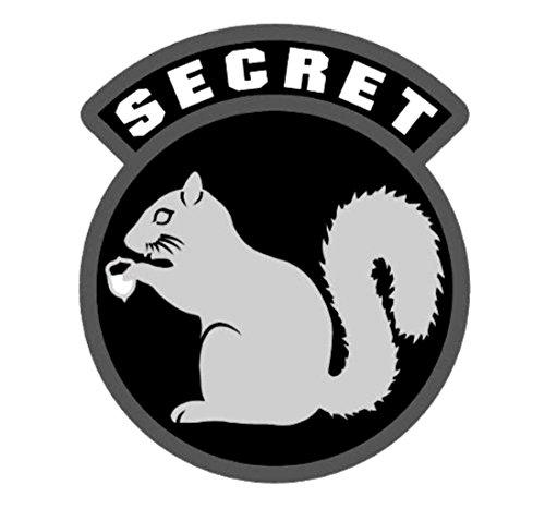MilSpec Monkey Secret Squirrel Vinyl Decal (SWAT (Black))