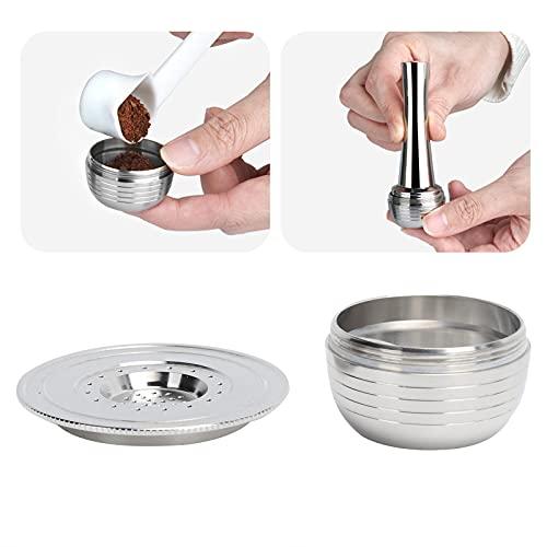 Cápsula de café, canasta de filtro de café compatible para cono de filtro de café