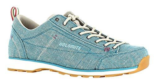 Dolomite DOL Shoe Cinquantaquattro Lh Canvas, Größe:4, Producer_Color:Turquoise Blue