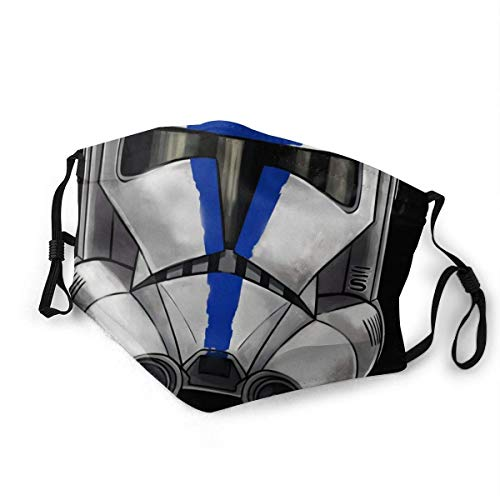 501st Clone Trooper Washable Reusable Face Bandanas Balaclava Mask with Adjustable Elastic Strap-one_color-