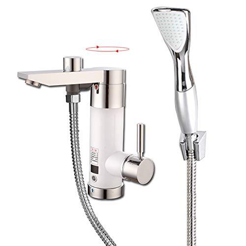 Elektrische Durchlauferhitzer Wasserhahn, Elektrische Dusche Heizung Instant Hot Faucet Badezimmer Warmwasserbereitung Durchlauferhitzer