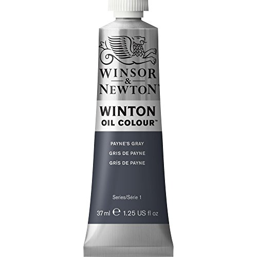 Winsor & Newton Winton Oil Color Paint, 37-ml Tube, Payne's Gray