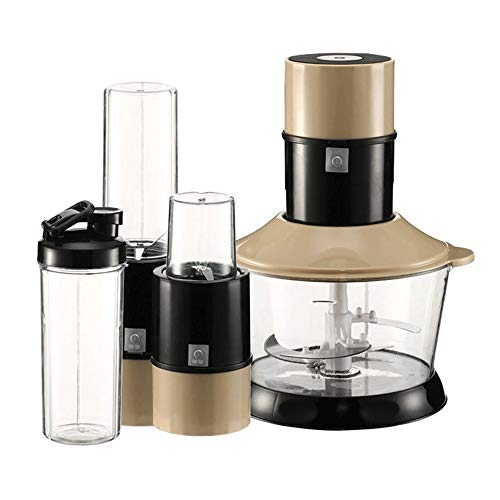 Review Household Five-in-one Multi-function Meat Grinder Electric Baby Food Milkshake Smoothie Mixer...