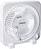 8 box fan - Impress IM-719BX Box Fan, White