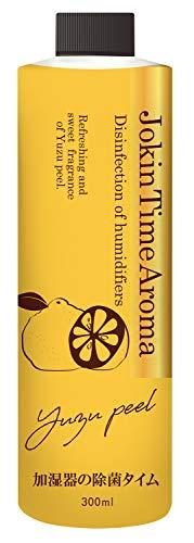 加湿器の除菌タイム アロマ ユズピールの香り 300mL