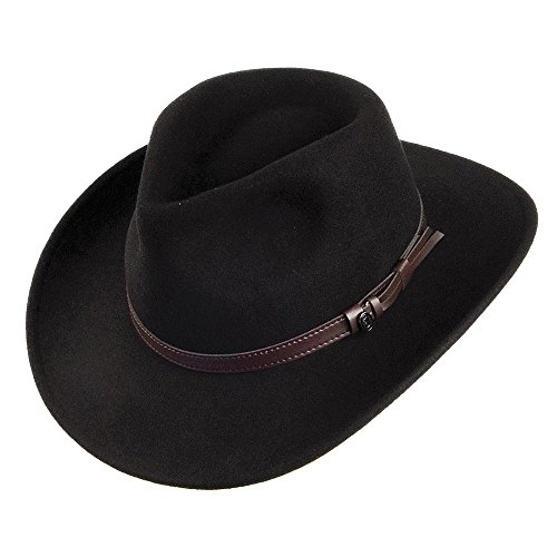 Jaxon & James Chapeau Australien Déformable Noir Small