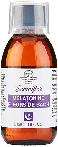 Elixirs & Co Mélatonine aux Fleurs de Bach - Somniflor - 150 ml