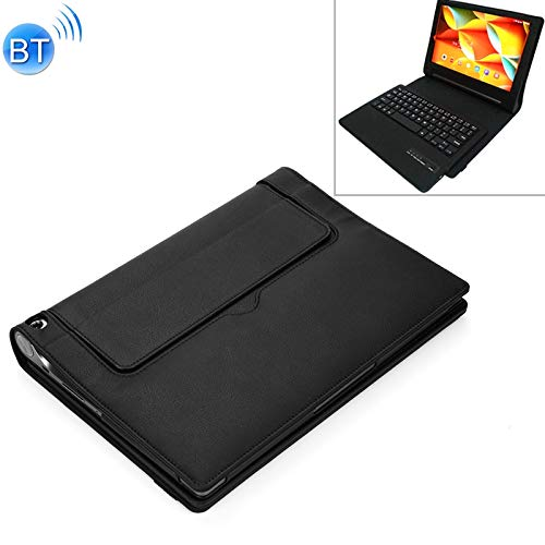 SKdvy New X50F Detachable Plastic Bluetooth Keyboard + Litchi Texture PU Leather Protective Cover for Lenovo Yoga Tab 3 10.1 High-Performance and Durable Keyboard