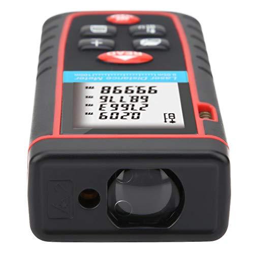 Telémetro láser digital, medidor de distancia láser Telémetro de cinta láser para medición de habitaciones para decoración