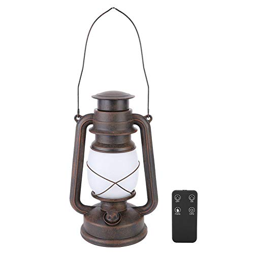 Cafopgrill Outdoor Lantaarn Licht, Retro Stijl Dual Mode LED Lantaarn Licht Draagbare Lamp voor Thuis Camping Outdoor Tent Verlichting
