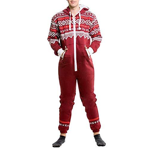 Combinaison de Sport Jogging Homme Combinaison de survêtement Pyjama Ensembles Hommes, Roiper Salopette Tous dans Un Hooded Long Manche Imprimer Zip Pantalon Impression Sports Zipper Roiper