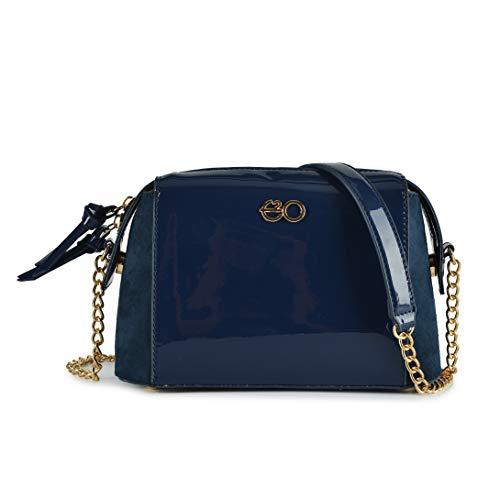 E2O Fashion Navy Blue Sling Bag For Women