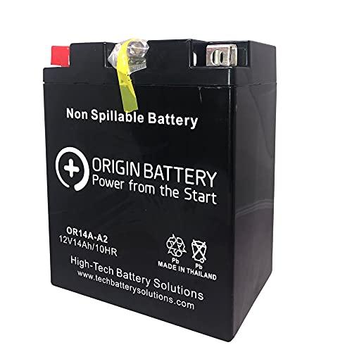 Origin 14A-A2 Battery Replaces: YB14A-A2, ES14AA2, and XT14A-A2 Models