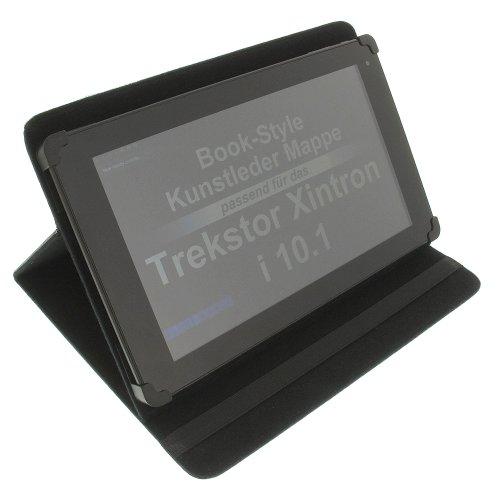 Tasche für Trekstor Xintron i 10.1 Surftab Wintron 10.1 SurfTab Twin 10.1 Book Style Schutz Hülle Buch