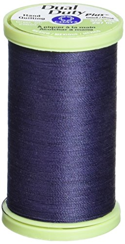 Navy Dual Duty Plus Hand Quilting Thread 325 Yards S960-4900