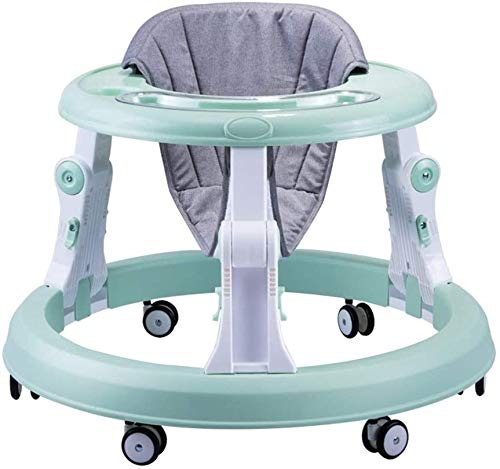 WOHAO Gehen Auto Wanderer Baby-Wanderer Prolongation Multifunktions Baby-Folding Kind Laufen Lernen und Lernen, Weg-Baby-Push-Spielzeug Baby-Wanderer (Farbe: Pink, Größe: 68x44x53cm)
