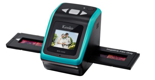 Review Kenko Camera Accessories for Film Scanner KFS-1450 1462 Million Pixels 2.4-inch TFT LCD with ...