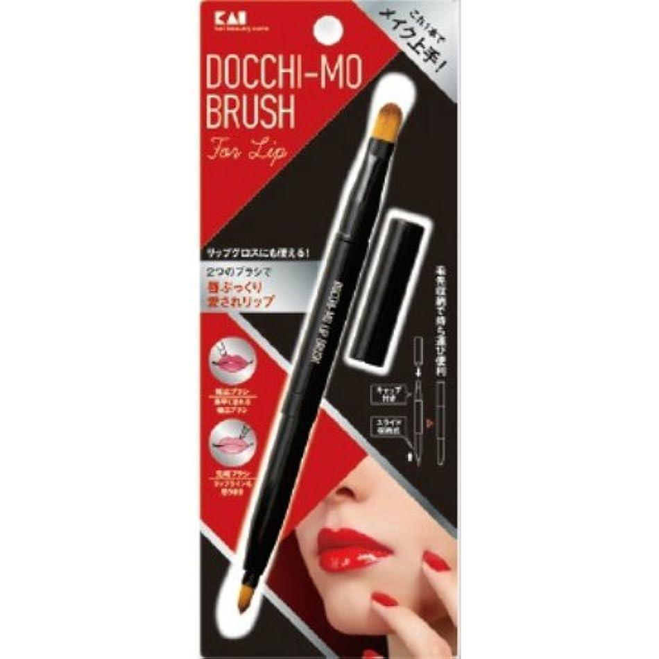 学校教育基礎理論縮れた貝印 Docchi-mo Brush for Lip
