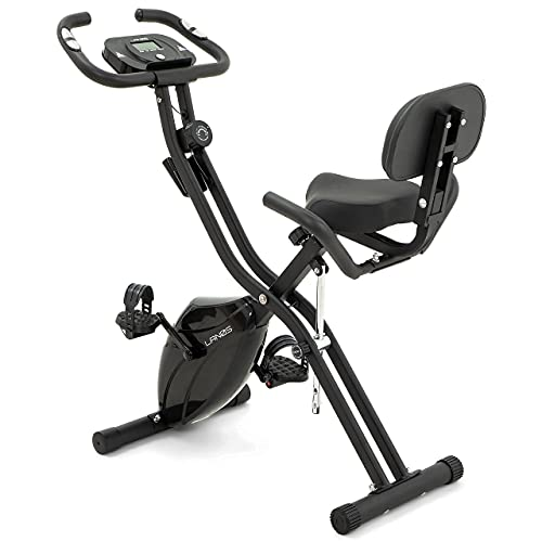 LANOS Workout Bike For Home - 2 In 1 Recumbent Exercise...