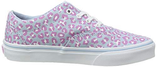 Vans Doheny, Sneaker Bambina, Blu ((Cheetah) Dream Blue/White WG1), 34.5 EU