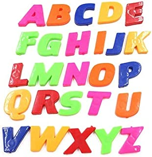 Fridge Magnets - 1 Set Magnetic Fridge Magnets Home Decor Alphabet Letters Sticker Colorful Teaching Kids Early - Ride Boys Ballancinh Vehicles Toys Stickers Electric Kids Scooter Truck Self Sc