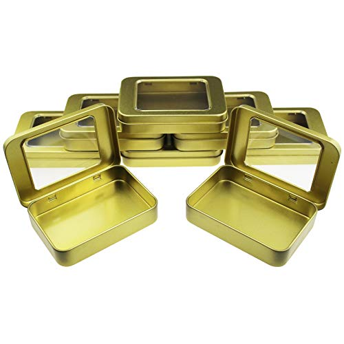Goodma 8 unidades pequeñas rectangulares de metal con bisag