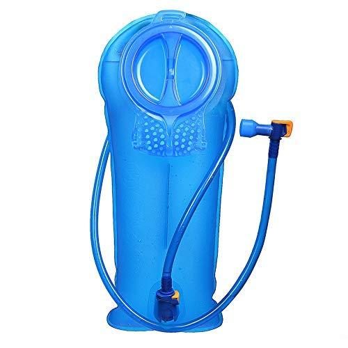 Unigear Bolsa De Agua para Mochila Hidratación 2/2.5/3L Depósito De Dgua Portátil TPU Libre de BPA Tubo Desmontable Apertura Grande Bolsa Hidratación para Ciclismo Senderismo Excursionismo Camping