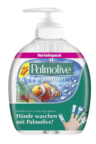 Palmolive Flüssigseife Aquarium 2x300ml *VORTEILSPACK*