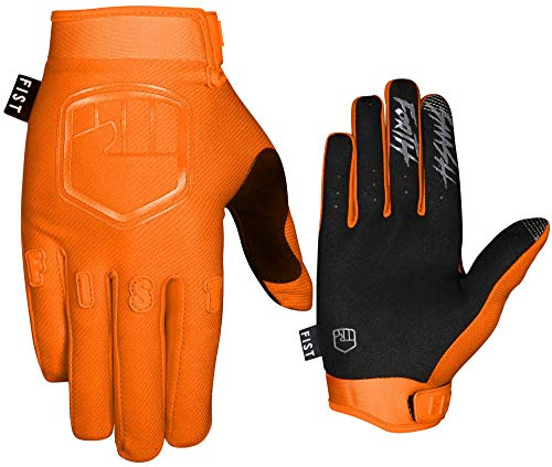 FIST HANDWEAR Guantes de niños para Motocross Bmx Mtb Dh Ciclismo - Capítulo 15 (Stocker Orange, S)