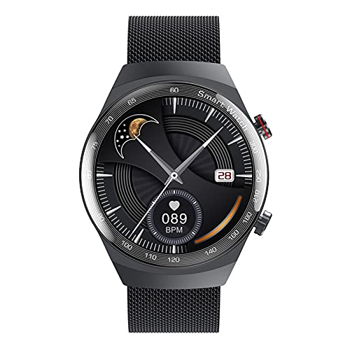 HQPCAHL Smartwatch Impermeable Reloj Inteligente con Cronómetro, Pulsera Actividad Inteligente para Deporte, Reloj De Fitness con Podómetro Smartwatch Mujer Hombre,C