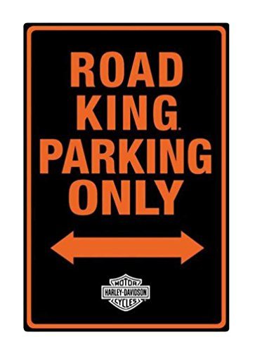 Harley-Davidson Embossed Road King Motorcycle Packing Only Tin Sign 2011011