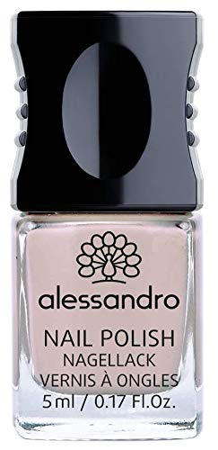 alessandro Nagellack Good Spirit/Northern Beauty Kollektion - langanhaltender Nagellack in Creme-Ton/Schimmer, 5 ml