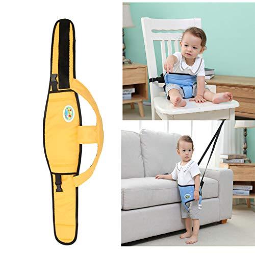 LY-LD Tragbare Babynahrung Stuhl Gürtel-Outdoor Portable Travel High Chair Booster Baby Seat Belt für 6-24 Monate Toddler,C