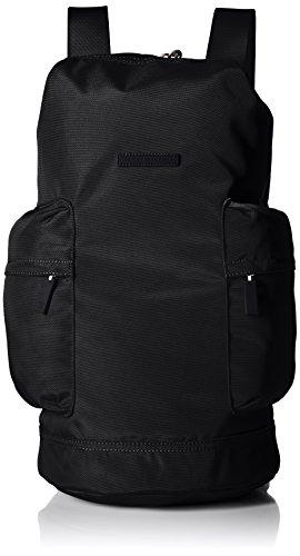 Tommy Hilfiger Women's Alexander Nylon Barrel Bag, Black