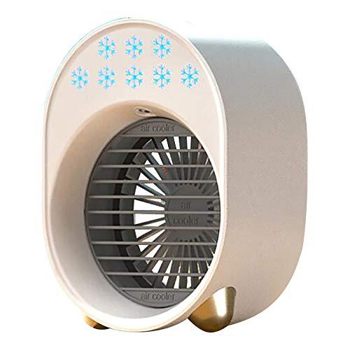 Zarupeng Ventilatore portatile a 3 velocità, climatizzatore portatile, silenzioso, ventilatore a piantana, per casa, ufficio, campeggio, viaggi, festa del papà b S