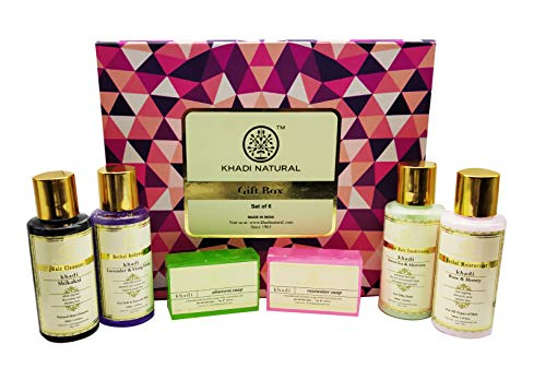 Khadi Naturals Gift Box (Set Of 6), 550 g