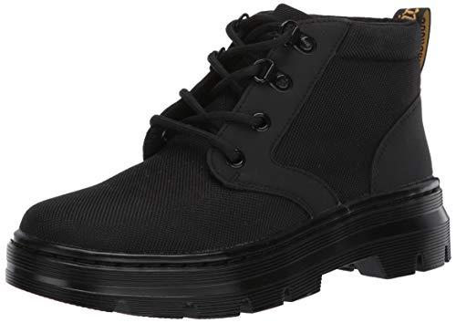 Dr. Martens Women's Chukka Ankle Boot, Black Extra Tough Nylon & Black Ajax, UK 5 (US Women's 7) M