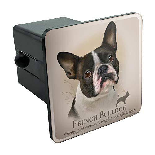 Graphics and More French Bulldog Dog Breed Tow Trailer Hitch Cover Plug Insert