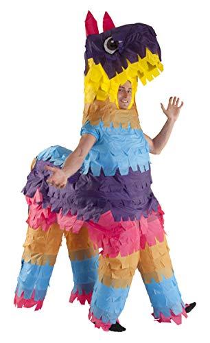 Morph Aufblasbares Piñata Kostüm für Erwachsene, lustiges Tierkostüm Herren Damen, Halloween Karneval